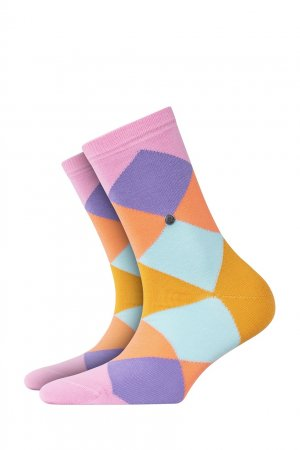 Разноцветные носки Bonnie Sho Burlington. Цвет: бордовый