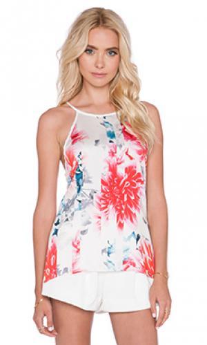Майка YFB CLOTHING. Цвет: белый
