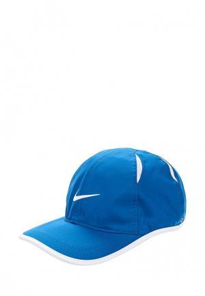 Бейсболка Nike NikeCourt AeroBill Featherlight Tennis Cap. Цвет: синий
