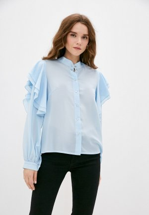 Блуза Adzhedo. Цвет: голубой