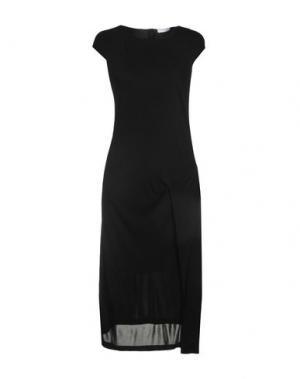 Платье до колена PARAKIAN. Цвет: черный