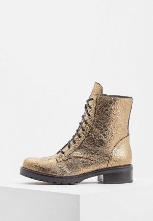 Ботинки Patrizia Pepe. Цвет: золотой