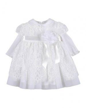 Платье BIMBALÒ. Цвет: белый