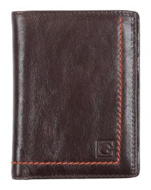 Бумажник GHERARDINI. Цвет: темно-коричневый