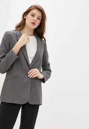 Пиджак Argent. Цвет: серый