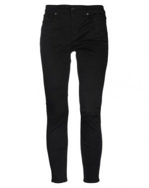 Джинсовые брюки J.CREW. Цвет: черный