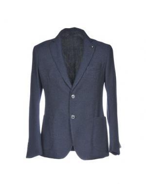 Пиджак EXIGO. Цвет: темно-синий