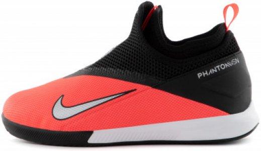 Бутсы для мальчиков Phantom Vision 2 Academy Dynamic Fit IC, размер 37 Nike. Цвет: красный