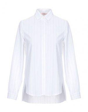 Pубашка KARTIKA. Цвет: белый
