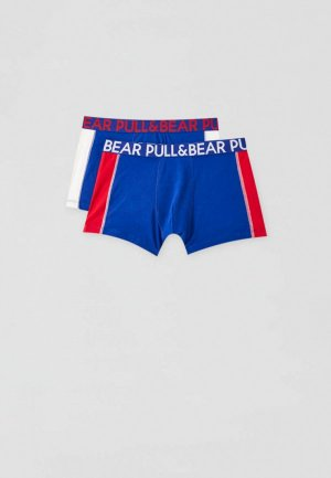 Комплект Pull&Bear. Цвет: синий