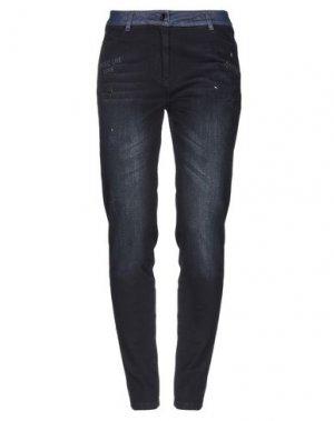Джинсовые брюки FUEGO WOMAN. Цвет: синий