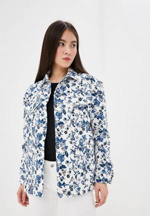 Куртка джинсовая Liu Jo. Цвет: белый