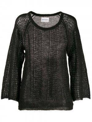 Джемпер тонкой вязки Antik Batik. Цвет: черный