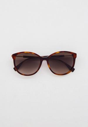 Очки солнцезащитные Fendi FF 0412/S 086. Цвет: коричневый