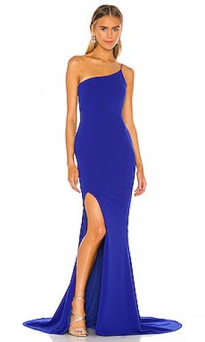 Вечернее платье jasmine Nookie. Цвет: королевский синий