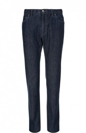 Зауженные джинсы Brioni. Цвет: синий