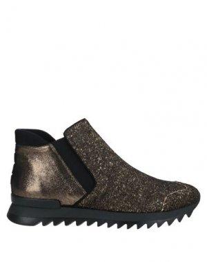 Полусапоги и высокие ботинки 181. Цвет: золотистый