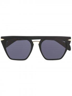 Солнцезащитные очки Orion RAG & BONE EYEWEAR. Цвет: черный