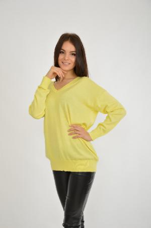 Пуловер Blue Seven. Цвет: желтый