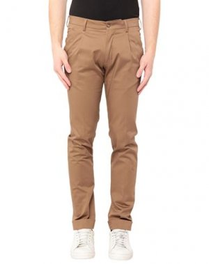 Повседневные брюки ANGELO NARDELLI. Цвет: хаки