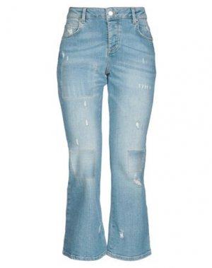 Джинсовые брюки FIVEUNITS. Цвет: синий