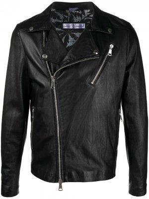 Байкерская куртка Daniele Alessandrini. Цвет: черный