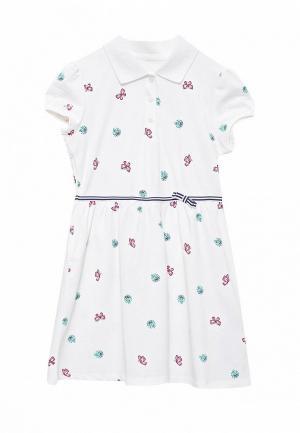 Платье Anta. Цвет: белый