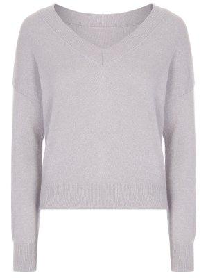 Пуловер с люрексом CANOE