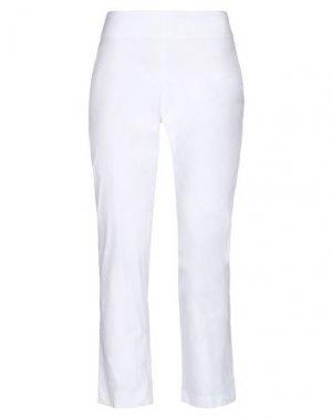 Повседневные брюки ANTONIO FUSCO. Цвет: белый