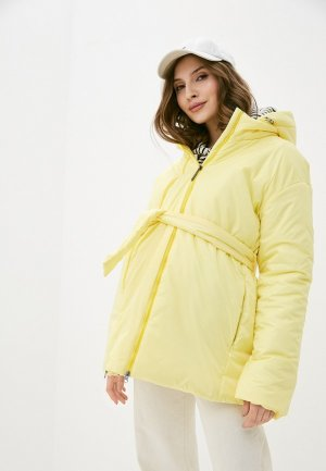 Куртка утепленная Modress. Цвет: желтый