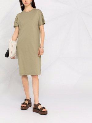 Платье-футболка Effie Filippa K. Цвет: зеленый