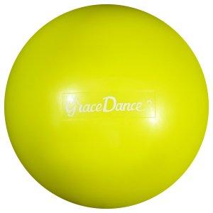 Мяч для художественной гимнастики 16,5 см, 280 г, цвет салатовый Grace Dance