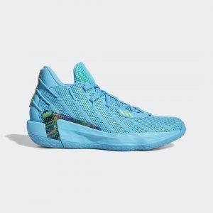 Баскетбольные кроссовки Dame 7 Performance adidas. Цвет: зеленый