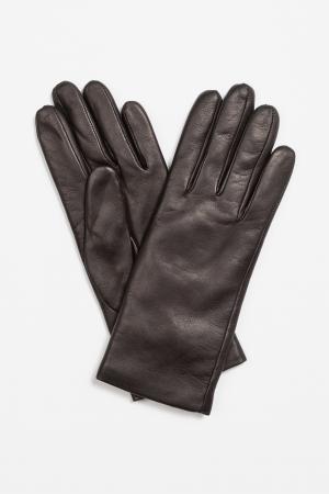 Перчатки из натуральной кожи VASSA&Co