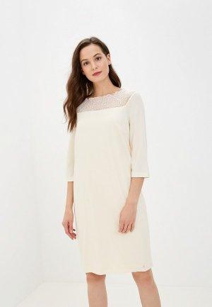Платье пляжное Laete. Цвет: белый