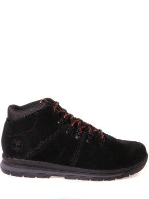 Замшевые ботинки Scramble 2 Mid TIMBERLAND. Цвет: черный