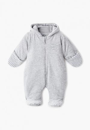 Комбинезон утепленный Fim Baby. Цвет: серый
