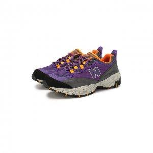 Кроссовки 801 New Balance. Цвет: фиолетовый