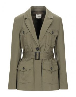 Куртка DIXIE. Цвет: зеленый-милитари
