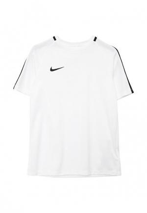 Футболка спортивная Nike Kids Dry Academy Football Top. Цвет: белый