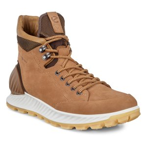 Ботинки высокие EXOSTRIKE M ECCO. Цвет: коричневый