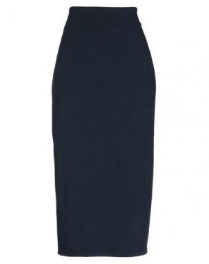 Юбка длиной 3/4 MAMA B.. Цвет: темно-синий