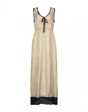 Длинное платье MIGUEL PALACIO for HOSS INTROPIA. Цвет: песочный