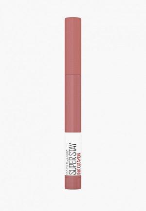 Карандаш для губ Maybelline New York Суперстей Инк стик 105, 1.5 гр.. Цвет: розовый