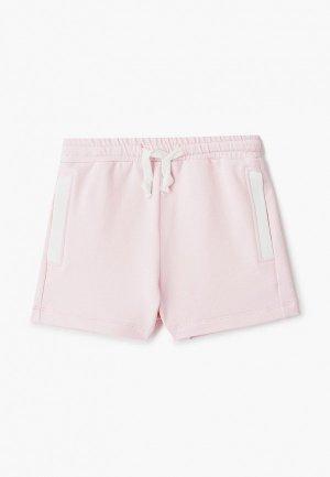 Шорты спортивные Choupette. Цвет: розовый