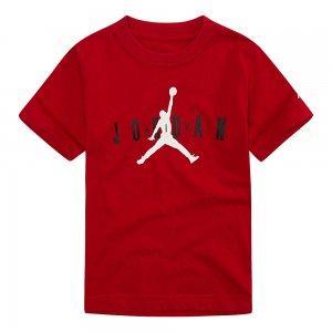 Brand Tee 5 Jordan. Цвет: красный