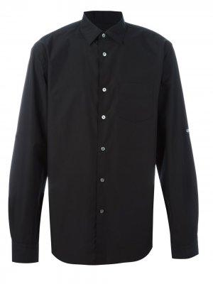 Классическая рубашка John Varvatos. Цвет: черный