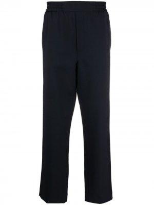 Прямые брюки Acne Studios. Цвет: синий