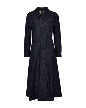 Джинсовая верхняя одежда NORMA KAMALI. Цвет: синий