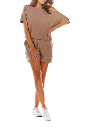 Jumpsuit INFINITE YOU. Цвет: beige